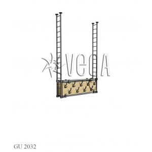 Секция гардеробная GU 2032