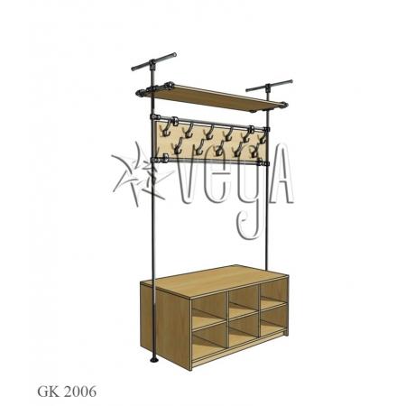 Секция гардеробная GK 2006